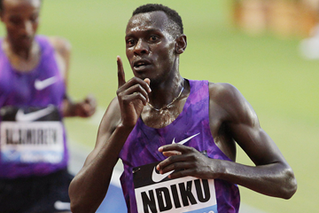 Kenyan distance runner Caleb Ndiku (AFP / Getty Images)
