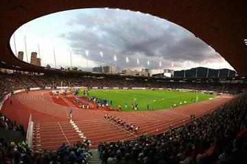 Zürich's Letzigrund stadium packed with 26,500 spectators (Getty Images)