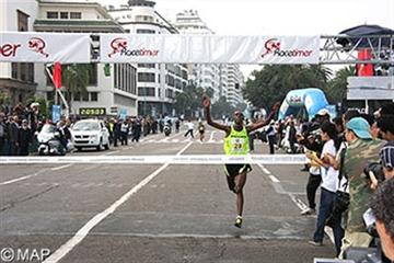 Casablanca Marathon 2010 is won by Shumi Gerbaba (ETH) (MAP)