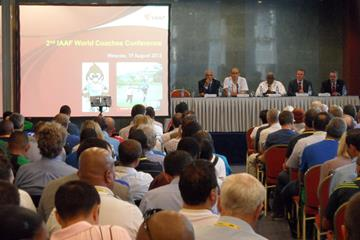 2nd IAAF World Coaches' Conference in Moscow (IAAF)