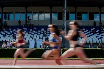 Athletes in action in Kladno (AFP / Getty Images)