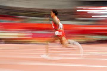 Bahrain's Salwa Eid Naser in action in the 400m (Getty Images)