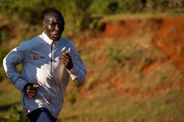 Kenyan distance runner Geoffrey Kamworor (NN Running Team/Dan Vernon)