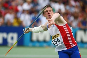 Killian Durechou of France on his way to winning silver (Getty Images)