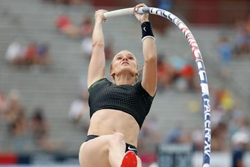 US pole vaulter Katie Nageotte (Getty Images)