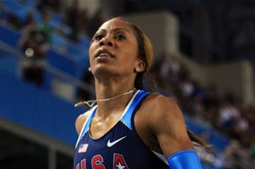 Sanya Richards-Ross of the United States crosses the line to win gold in the 400m in Istanbul (Getty Images)