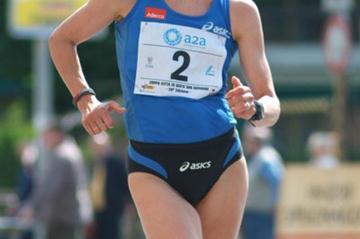 Kjersti Plätzer en route to her second Sesto San Giovanni victory (Lorenzo Sampaolo)
