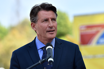 IAAF President Sebastian Coe at the IAAF World Race Walking Team Championships Rome 2016 (Getty Images)