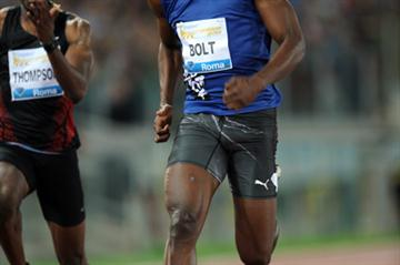 Usain Bolt's final surge secures victory in Rome (Giancarlo Colombo)