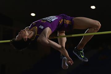 Zhang Guowei at the 2014 IAAF Continental Cup (Getty Images)