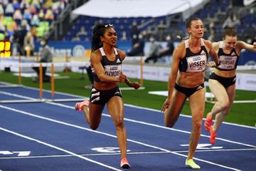 Christina Clemons at the ISTAF Indoor in Berlin (Getty Images)