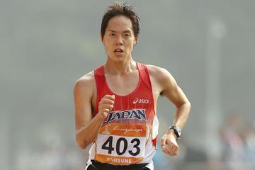 Japanese record-holder Yusuke Suzuki (Getty Images)
