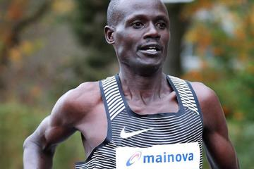 Mark Kiptoo in Frankfurt (Organisers)