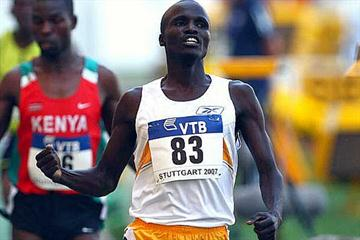 Edwin Cheruiyot Soi - 3000m / 5000m  winner in Stuttgart (Getty Images)
