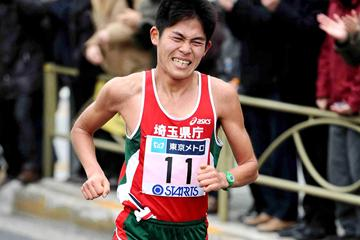 Yuki Kawauchi of Japan (Yohei Kamiyama/Agence SHOT)