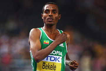 Kenenisa Bekele in action at the IAAF World Championships (Getty Images)