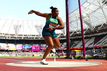Brazilian discus thrower Andressa de Morais at the IAAF World Championships London 2017 (Getty Images)