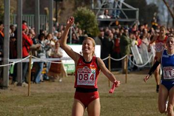 Marta Domínguez brings the home the European XC gold at home in Toro (Hasse Sjögren)