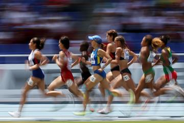 Athletes in action in the 1500m (Getty Images)