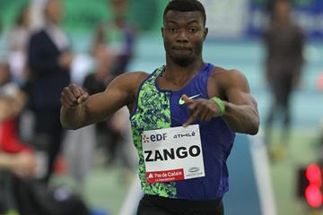 Hugues Fabrice Zango sails 17.51m in Lievin (Jean Pierre Durand )