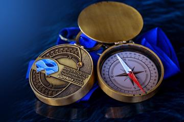 Finishers' medals for the World Athletics Half Marathon Championships Gdynia 2020 (Organisers)