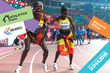 Watch World Athletics: women's 800m (Getty Images)