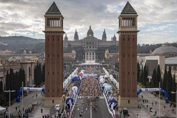 Start of the 2018 Zurich Barcelona Marathon (organisers)