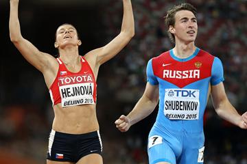 World Athlete of the Year 2015 longlist – hurdles candidates  Shubenkov and  Hejnova 6342bc312710a