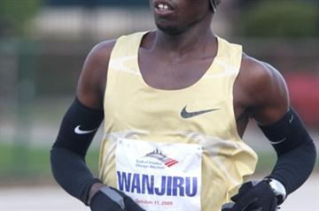 Sammy Wanjiru in Chicago - 2009 (Victah Sailer)