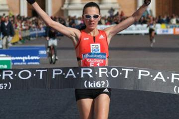 Aniko Kalovics victorious again in Carpi (Lorenzo Sampaolo)