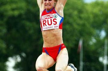 Irina Simagina (RUS) wins the Long Jump - European Cup (Getty Images)