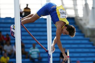Armand Duplantis at the IAAF World Youth Championships, Cali 2015 (Getty Images)