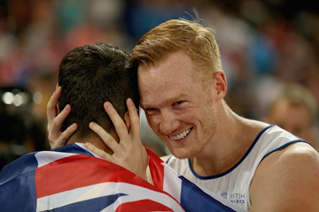 Greg Rutherford and Fabrice Lapierre ()