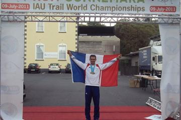 2011 IAU World Trail champion Erik Clavery (Nadeem Khan)