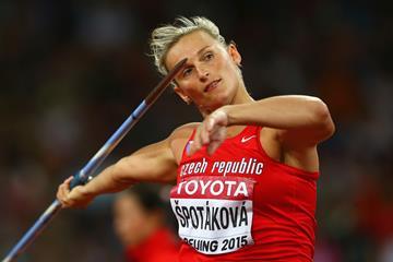 Barbora Spotakova in the javelin at the IAAF World Championships Beijing 2015 (Getty Images)