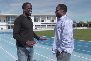 Dwight Phillips on IAAF Inside Athletics (IAAF)