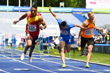 Orlando Ortega wins the 110m hurdles at the European Team Championships in Lille (Getty Images)