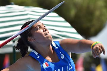Italian javelin thrower Carolina Visca (Getty Images)