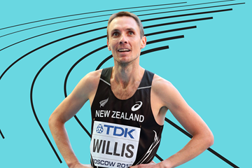 Middle-distance runner Nick Willuis of New Zealand (Getty Images)