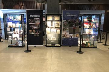 Display cabinets - IAAF Heritage Cross Country Display - 1819 to 2019 - Aarhus, Denmark (IAAF)
