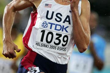 Jeremy Wariner of the US in the 400m semi-finals (Getty Images)