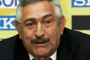 IAAF General Secretary Pierre Weiss during the Press Conference (Getty Images)