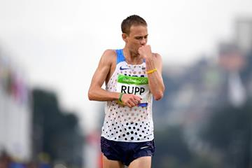 Galen Rupp fiinishes third in the marathon at the Rio 2016 Olympic Games (Getty Images)