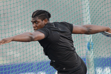 Jamaican discus thrower Fedrick Dacres (AFP / Getty Images)
