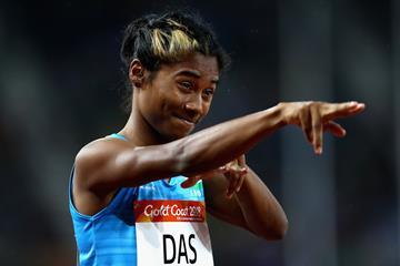 Indian sprinter Hima Das (Getty Images)