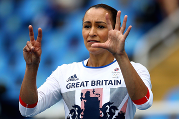Jessica Ennis-Hill during the Rio Olympics  ()