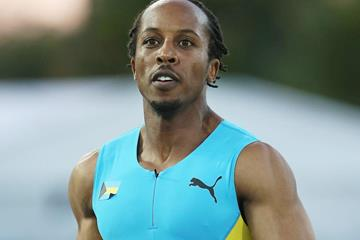 Chris Brown in the 4x400m at the IAAF World Relays (Getty Images)