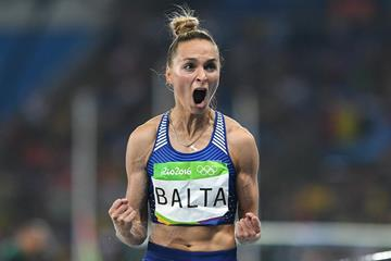 Ksenija Balta at the 2016 Olympic Games in Rio (AFP / Getty Images)