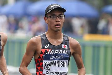Toshikazu Yamanishi in Taicang (Getty Images)
