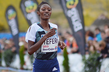 Senbere Teferi wins the Cross de Atapuerca (Fundación Anoc)